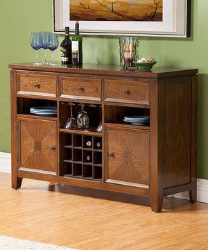 """Maddox 80"""" Wide Mango Wood Sideboards Intended For Current Albany Wine Storage Server#zulily #zulilyfinds (View 22 of 30)"""