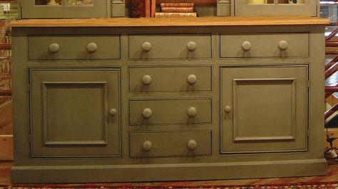 """Maeva 60"""" 3 Drawer Sideboards For Most Current British Traditions Large 3 Section Sideboard W 5 Drawers (View 27 of 30)"""