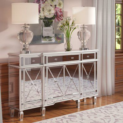 """Maeva 60"""" 3 Drawer Sideboards In Current Contempo 60"""" Wide 3 Drawer Sideboard In  (View 12 of 30)"""