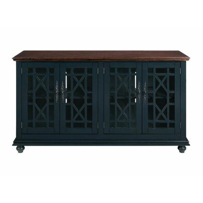 """Mainor Solid Wood Tv Stand For Tvs Up To 60"""" Color Regarding Fashionable Alannah Tv Stands For Tvs Up To 60"""" (View 20 of 30)"""