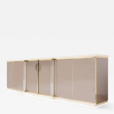 """Maison Jansen – Sideboard With Travertine Top And Base Throughout Trendy Heurich 59"""" Wide Buffet Tables (View 30 of 30)"""