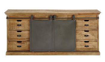 "Maisons Du Monde Inside Well Known Zinaida 59"" Wide Mango Wood Buffet Tables (View 7 of 30)"