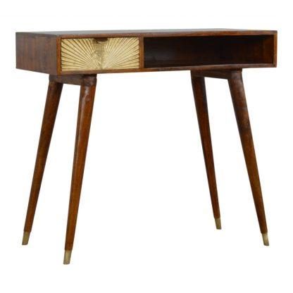 "Mango Wood Furniture Regarding Hargrove 72"" Wide 3 Drawer Mango Wood Sideboards (View 26 of 30)"