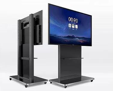 """Maxhub Large Mobile Tv Stand For 65″,75″ & 86″ Panels Throughout 2020 Adora Tv Stands For Tvs Up To 65"""" (View 16 of 30)"""