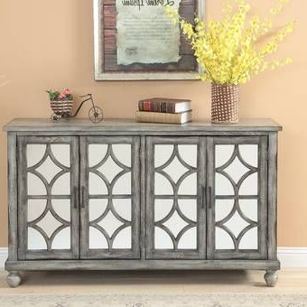 """Media Credenza, Decor With Ronce 48"""" Wide Sideboards (View 11 of 30)"""