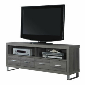 """Miah Tv Stands For Tvs Up To 60"""" Throughout Newest Monarch Specialties 60"""" Entertainment Center Tv Stand With (View 23 of 30)"""