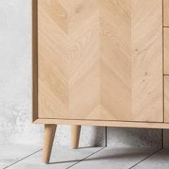 Milano 2 Door 3 Drawer Sideboard (View 23 of 30)