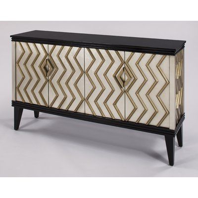 Mirrored Sideboard, Accent (View 28 of 30)