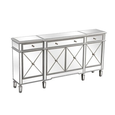 """Mirrored Sideboard & Buffet Tables You'll Love In 2020 Regarding Most Popular Fugate 48"""" Wide 4 Drawer Credenzas (View 19 of 30)"""