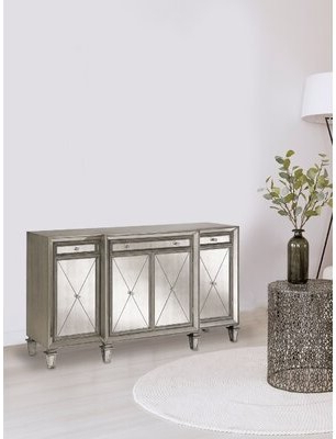 Mirrored Sideboard – Shopstyle Throughout Newest Louismere Sideboards (View 5 of 7)