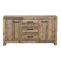 """Mistana™ Abbey 63"""" Wide 3 Drawer Pine Wood Sideboard & Reviews Throughout 2019 Albright 58"""" Wide 3 Drawer Sideboards (View 19 of 30)"""