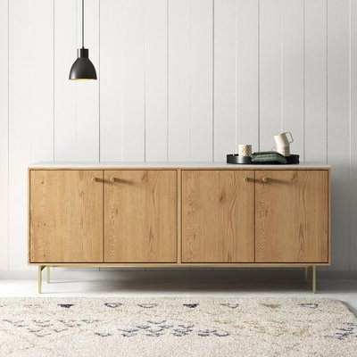 """[%modern Sideboards + Buffets: Up To 80% Off This Week Only Regarding Famous Miruna 46.81"""" Wide Sideboards