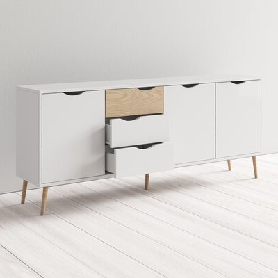 """[%modern Sideboards + Buffets: Up To 80% Off This Week Only Throughout Best And Newest Miruna 63"""" Wide Wood Sideboards