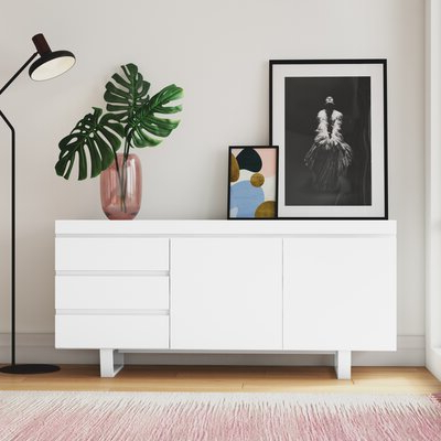 Modern White Sideboards + Buffets (View 20 of 30)