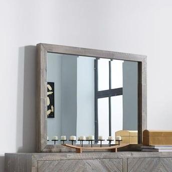 "Modus Furniture Herringbone 3 In L X 48 In W Rustic Latte Pertaining To Well Liked Herringbone 48"" Wide Buffet Tables (View 30 of 30)"
