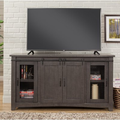 """Most Current 70 Inch And Larger Grey Tv Stands You'll Love In 2020 With George Oliver Sideboards """"new York Range"""" Gray Solid Pine Wood (View 16 of 30)"""