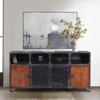 """Most Current Claire 70"""" Wide Acacia Wood Sideboards Intended For 70 Inch Sideboard (View 22 of 30)"""