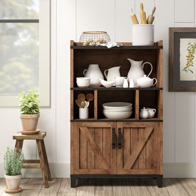 """Most Current Farmhouse & Rustic Sideboards & Buffets – Made To Last Intended For Westhoff 60"""" Wide 6 Drawer Pine Wood Credenzas (View 13 of 30)"""