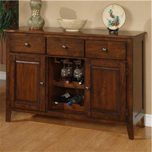 Most Current Holland House 1279 Mango Wood Dining Room Sideboard (View 2 of 30)