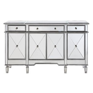 """Most Current Maeva 60"""" 3 Drawer Sideboards Inside Willa Arlo Interiors Contempo 60"""" Wide 3 Drawer Sideboard (View 17 of 30)"""