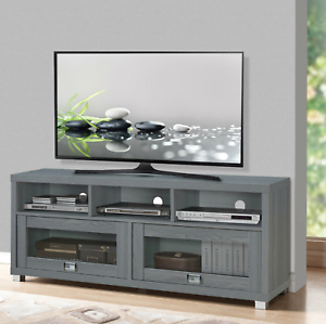 """Most Current Tv Stand 58 Up To 75 Inch Flat Screen Home Entertainment Throughout Josie Tv Stands For Tvs Up To 58"""" (View 27 of 30)"""