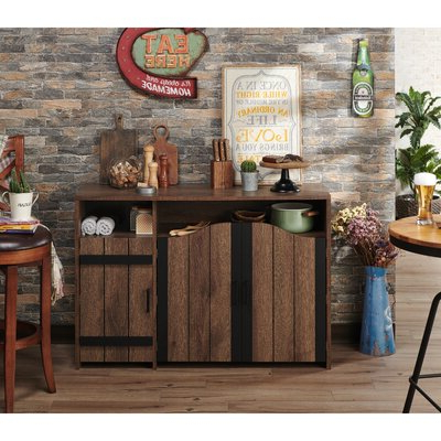"""Most Current Wine Bottle Storage Equipped Sideboards & Buffets You'll With Shirley Mills 52"""" Wide Buffet Tables (View 23 of 30)"""