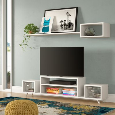 Most Popular Blaire Solid Wood Tv Stands For Tvs Up To 75 Intended For 75 Inch Tv Entertainment Center Tv Stands & Entertainment (View 4 of 30)