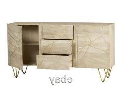 Most Popular Extra Large Sideboard With 2 Doors And 3 Drawers Dallas Within  (View 17 of 30)