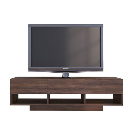 """Most Popular Herington Tv Stands For Tvs Up To 60"""" Inside Nexera Rustik 60 Inch Tv Stand (View 9 of 30)"""