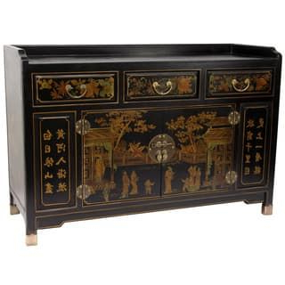 """Most Popular Pin On Chinoiserie Furniture Regarding Pardeesville 55"""" Wide Buffet Tables (View 17 of 30)"""