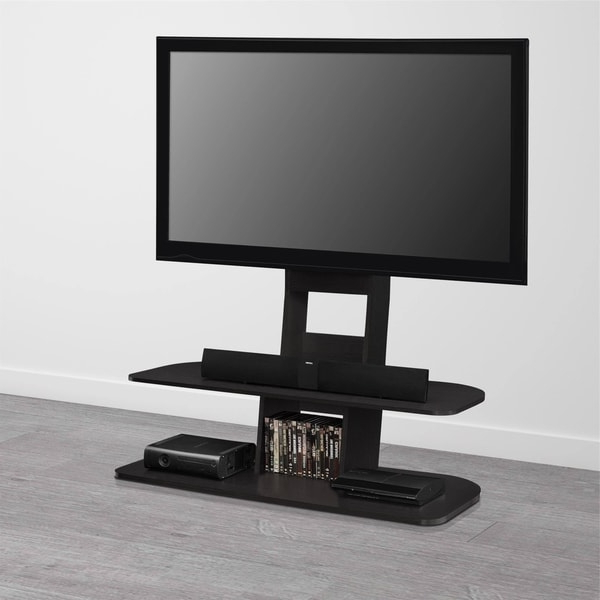 """Most Popular Shop Avenue Greene Crossfield Tv Stand With Mount For Tvs Throughout Shilo Tv Stands For Tvs Up To 65"""" (View 25 of 30)"""