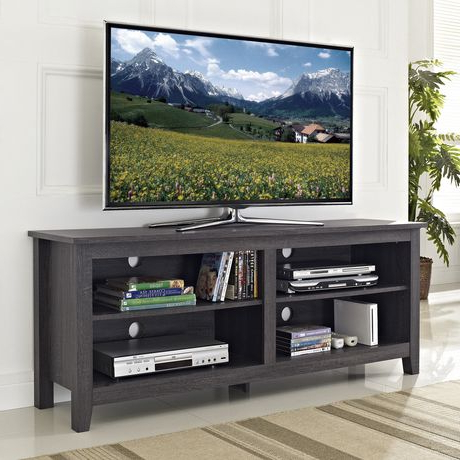 """Most Popular We Furniture Wood Tv Stand For Tv's Up To 60"""" (multiple Regarding Skofte Tv Stands For Tvs Up To 60"""" (View 18 of 30)"""