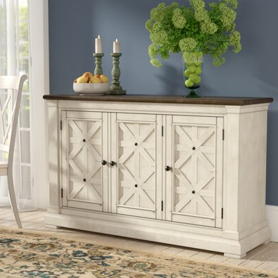 Most Popular White Sideboards & Buffets You'll Love In  (View 19 of 30)