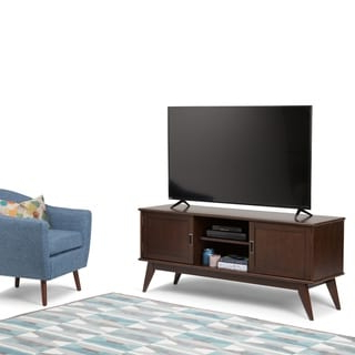 """Most Popular Wyndenhall Tierney Solid Hardwood 60 Inch Wide Mid Century Inside Herington Tv Stands For Tvs Up To 60"""" (View 27 of 30)"""