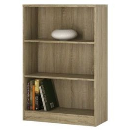 """Most Recent 4 You Medium Wide Bookcase In Sonoma Oak Finish Inside Kidham 68"""" Wide Sideboards (View 15 of 30)"""
