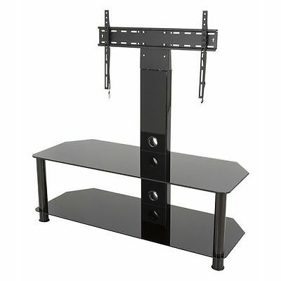 """Most Recent Avf Sdcl1140bb A Stand With Tv Mount For Tvs Up To 65 With Adrien Tv Stands For Tvs Up To 65"""" (View 16 of 30)"""