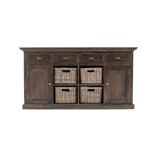 """Most Recent Brentley 54"""" Wide 1 Drawer Sideboards With Farmhouse & Rustic Sideboards & Buffets (View 6 of 30)"""
