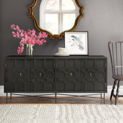 Most Recent Chouchanik 46 Wide 4 Drawer Sideboards Regarding Sideboards & Buffet Tables (View 19 of 30)