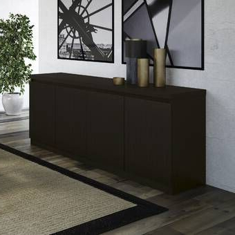 """Most Recent Contempo 60"""" Wide 3 Drawer Sideboard In  (View 28 of 30)"""