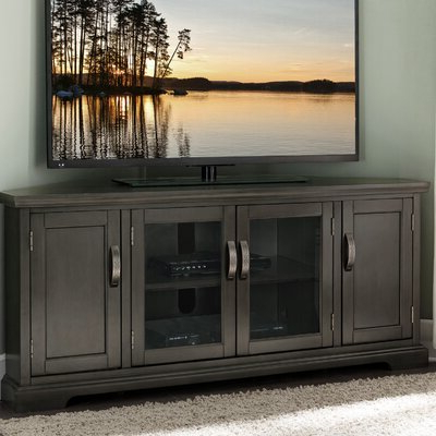 """Most Recent Corner Tv Stands You'll Love In 2020 With Finnick Tv Stands For Tvs Up To 65"""" (View 12 of 30)"""
