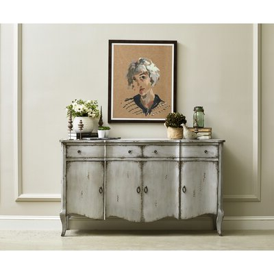 """Most Recent Distressed Finish Sideboards & Buffets You'll Love In 2020 Intended For Stovall 72"""" Wide Sideboards (View 14 of 30)"""