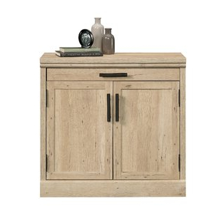Most Recent Millwood Pines Floor Storage Cabinet With 2 Doors And 2 Open Shelves In 28 Inch Storage Cabinet (View 11 of 30)