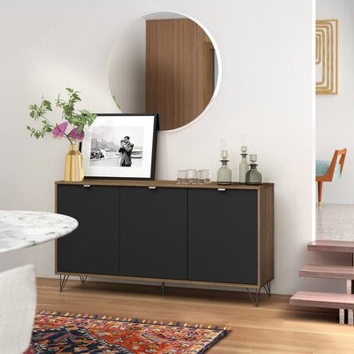 """Most Recent Miruna 63"""" Wide Wood Sideboards With Regard To Modern Sideboards + Buffets (View 26 of 30)"""