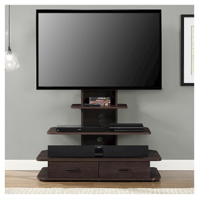 """Most Recent Solar Tv Stand With Mount And Drawers For Tvs Up To 70 Inside Lederman Tv Stands For Tvs Up To 70"""" (View 3 of 30)"""