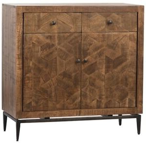 """Most Recently Released 36"""" T Ilaria Sideboard Hand Crafted Mango Wood Hex Pattern With Regard To Maddox 80"""" Wide Mango Wood Sideboards (View 17 of 30)"""