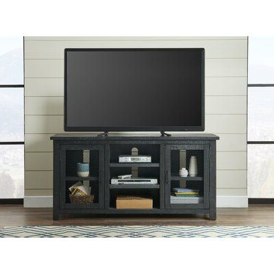 """Most Recently Released Adrien Tv Stands For Tvs Up To 65"""" Throughout Union Rustic Satchell Solid Wood Tv Stand For Tvs Up To  (View 22 of 30)"""
