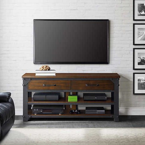"""Most Recently Released Bloomfield Tv Stands For Tvs Up To 65"""" Regarding Walton 56 Inch 3 In 1 Tv Stand (View 27 of 30)"""