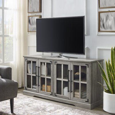 """Most Recently Released Gracie Oaks Dougan Tv Stand For Tvs Up To 65 Inches Colour Pertaining To Adrien Tv Stands For Tvs Up To 65"""" (View 5 of 30)"""