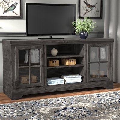 """Most Recently Released Lucille Tv Stands For Tvs Up To 75"""" Pertaining To 70 Inch And Larger Grey Tv Stands You'll Love In  (View 30 of 30)"""