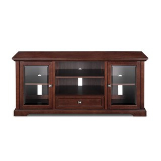 """Most Recently Released Miah Tv Stands For Tvs Up To 60"""" With Regard To Shop 60 Inch Mocha Tv Stand – Overstock – (View 13 of 30)"""